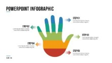 PowerPoint Infographic - 098 - Steps Hand