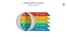 PowerPoint Infographic - Circle 100