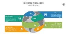 PowerPoint Infographic - Globe 096