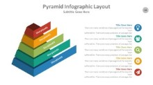PowerPoint Infographic - Pyramid 034