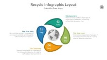 PowerPoint Infographic - Recycle 085