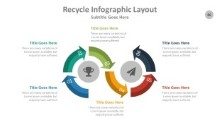 PowerPoint Infographic - Recycle 086