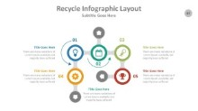 PowerPoint Infographic - Recycle 087