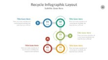 PowerPoint Infographic - Recycle 088