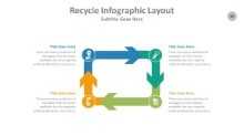 PowerPoint Infographic - Recycle 089
