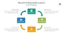 PowerPoint Infographic - Recycle 094
