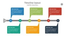 PowerPoint Infographic - Timeline 069