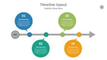 PowerPoint Infographic - Timeline 071