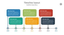 PowerPoint Infographic - Timeline 074