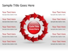 Download arrowcycle a 10red PowerPoint Slide and other software plugins for Microsoft PowerPoint