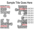 Marketing Puzzle PPT PowerPoint presentation slide layout