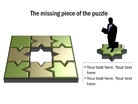 Puzzle Diagram 07 PPT PowerPoint presentation Diagram