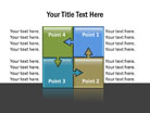 Puzzle Diagram 12 PPT PowerPoint presentation Diagram