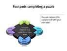 Puzzle Diagram 22 PPT PowerPoint presentation Diagram