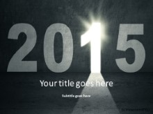 2015 Opportunity PPT PowerPoint Template Background