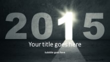 2015 Opportunity Widescreen PPT PowerPoint Template Background