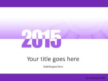 Meshy 2015 Purple PPT PowerPoint Template Background