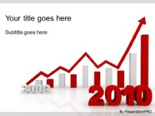 Download 2010 increasing red PowerPoint Template and other software plugins for Microsoft PowerPoint