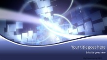 ABSTRACT 0007B Widescreen PPT PowerPoint Template Background