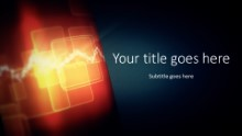 Abstract Rotation Widescreen PPT PowerPoint Template Background