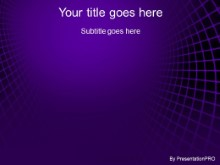 Download ambient purple PowerPoint Template and other software plugins for Microsoft PowerPoint
