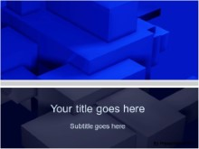 Download building blocks blue PowerPoint Template and other software plugins for Microsoft PowerPoint