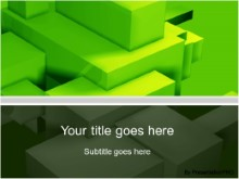 Download building blocks green PowerPoint Template and other software plugins for Microsoft PowerPoint
