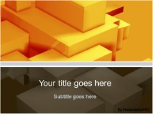Download building blocks orange PowerPoint Template and other software plugins for Microsoft PowerPoint