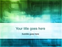 Download digital overpass green PowerPoint Template and other software plugins for Microsoft PowerPoint