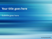 Horizontal Abstract PPT PowerPoint Template Background