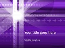 Moving Forward Purple PPT PowerPoint Template Background