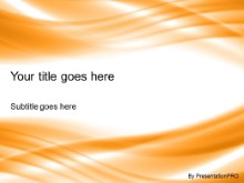 Download ripple glow orange PowerPoint Template and other software plugins for Microsoft PowerPoint