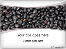 Download black beans PowerPoint Template and other software plugins for Microsoft PowerPoint