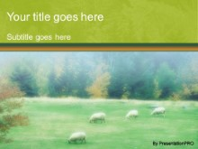 Download cattle sheepish PowerPoint Template and other software plugins for Microsoft PowerPoint