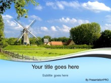 Download old windmill PowerPoint Template and other software plugins for Microsoft PowerPoint