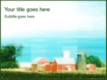 Download the farm PowerPoint Template and other software plugins for Microsoft PowerPoint