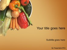 Download veggies PowerPoint Template and other software plugins for Microsoft PowerPoint