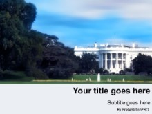 Download the whitehouse PowerPoint Template and other software plugins for Microsoft PowerPoint