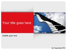 Download piano music PowerPoint Template and other software plugins for Microsoft PowerPoint