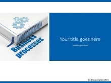 Book Process PPT PowerPoint Template Background