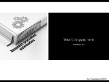 Book Process Automation PPT PowerPoint Template Background