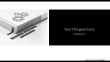 Book Process Automation Widescreen PPT PowerPoint Template Background