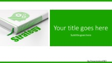 Book Strategy Widescreen PPT PowerPoint Template Background