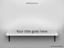 Bookshelf PPT PowerPoint Template Background