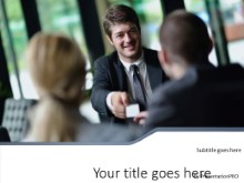 Meeting Success PPT PowerPoint Template Background