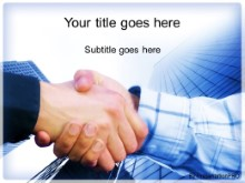 PowerPoint Templates - Corporate Hand Shake