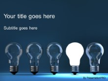 Download idea illumination PowerPoint Template and other software plugins for Microsoft PowerPoint