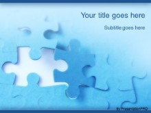 PowerPoint Templates - Jigsaw Puzzle Piece
