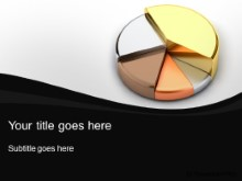 Download metallic pie chart PowerPoint Template and other software plugins for Microsoft PowerPoint