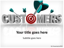 Download target customer bullseye PowerPoint Template and other software plugins for Microsoft PowerPoint
